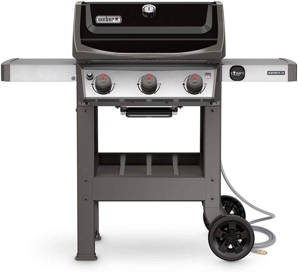 weber 3burner gas grill