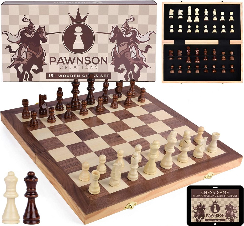 wooden chess kids adults