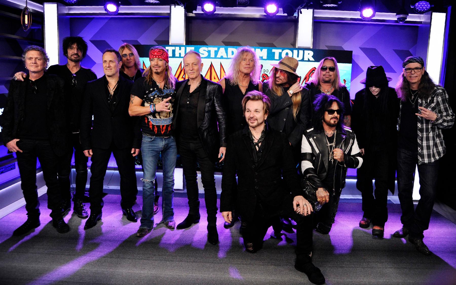 Def Leppard, Mötley Crüe, Poison Announce 2021 Makeup Dates - Rolling Stone