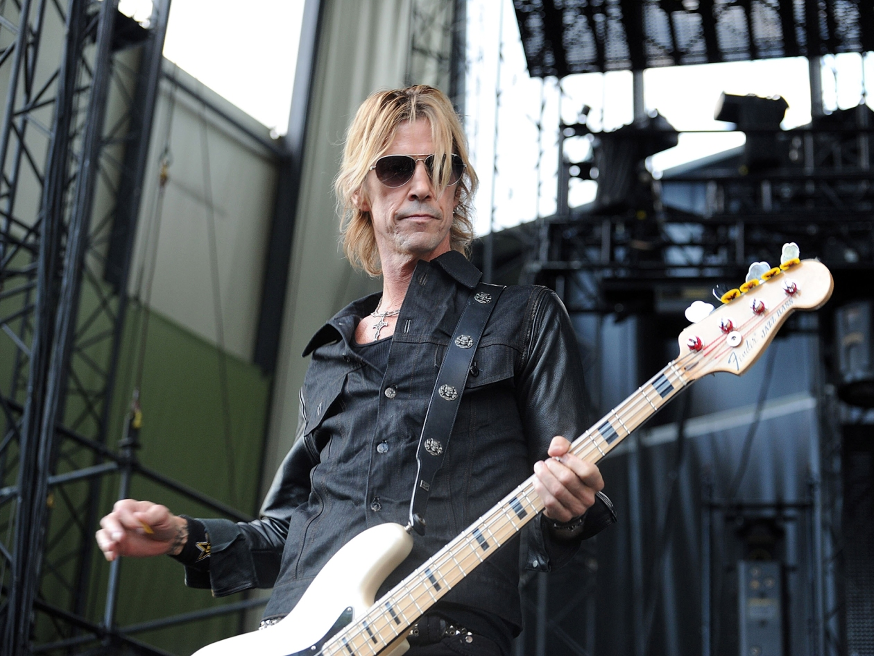 GEORGE, WA - SEPTEMBER 07:  Bass player Duff McKagan of Walking Papers performs at Uproar Festival at the Gorge Amphitheater on September 7, 2013 in George, Washington.  (Photo by Dana Nalbandian/WireImage)