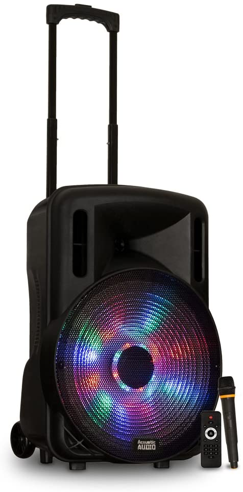powered speaker woofer karaoke