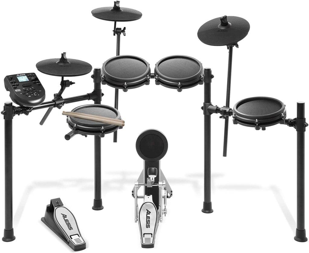 electronic drum set alesis mesh
