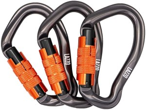 climbing carabiners twist lock