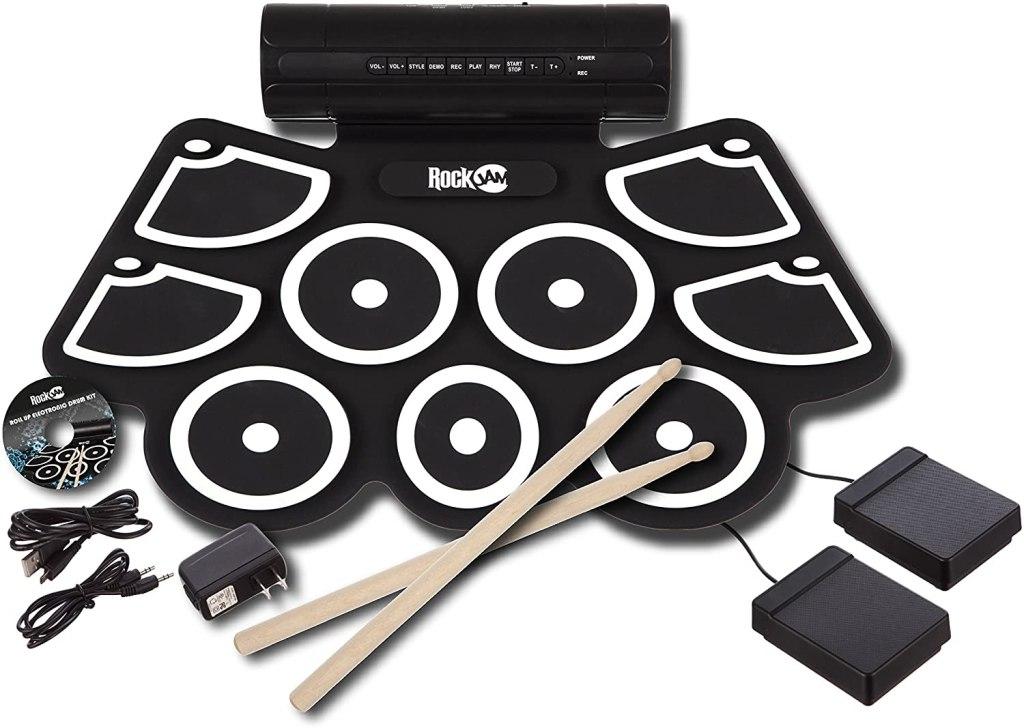 Roll up drum set rockjam