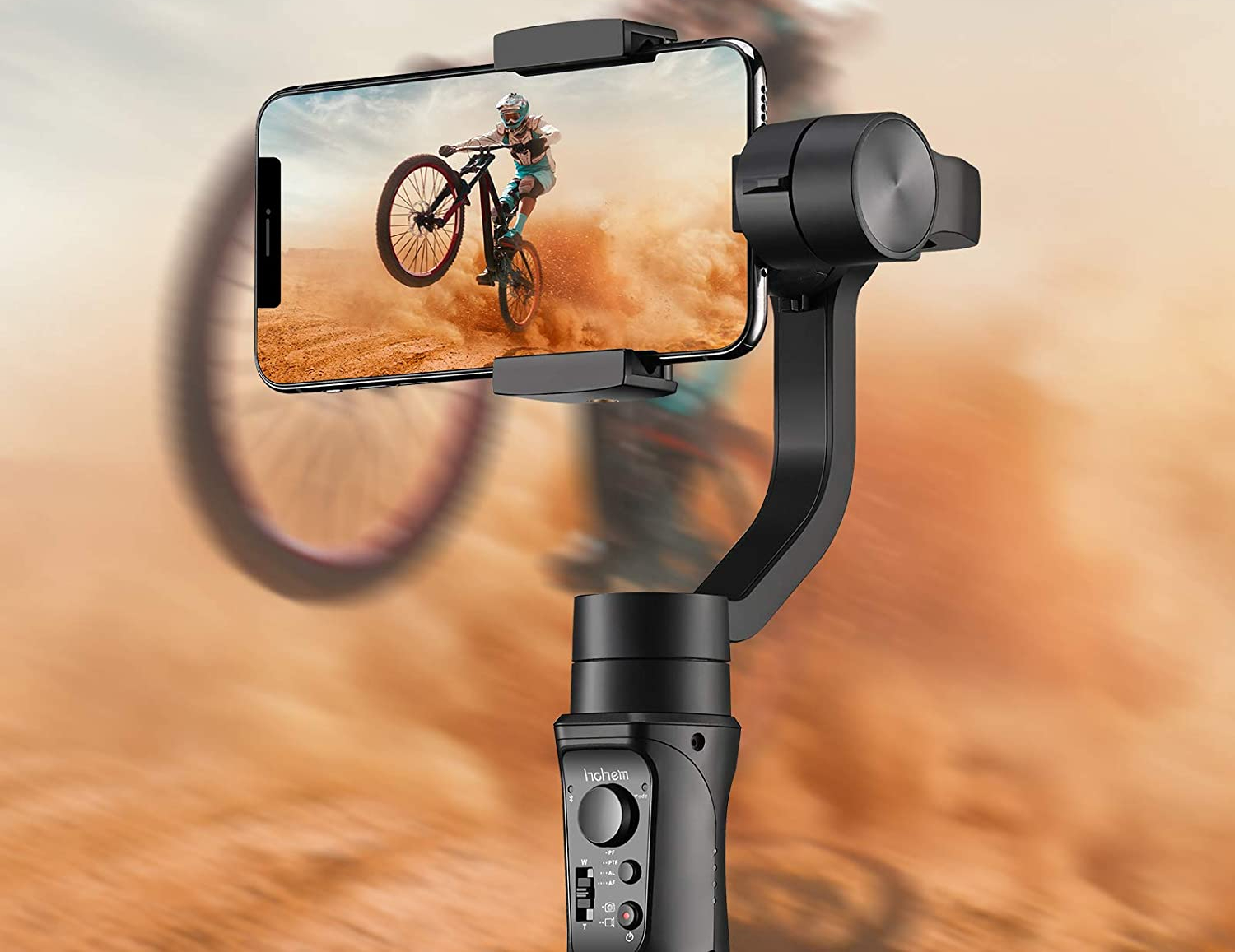 Hohem All in 1 3-Axis Gimbal Stabilizer
