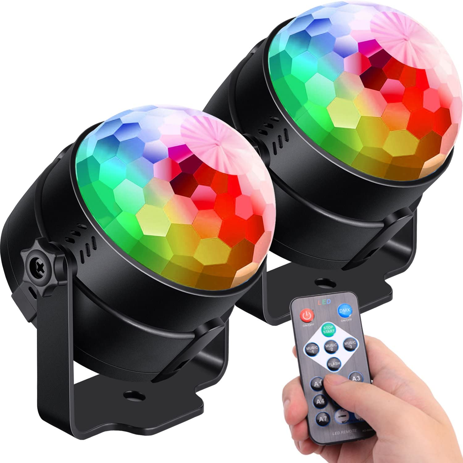 Ludetek Sound Activated Party Lights