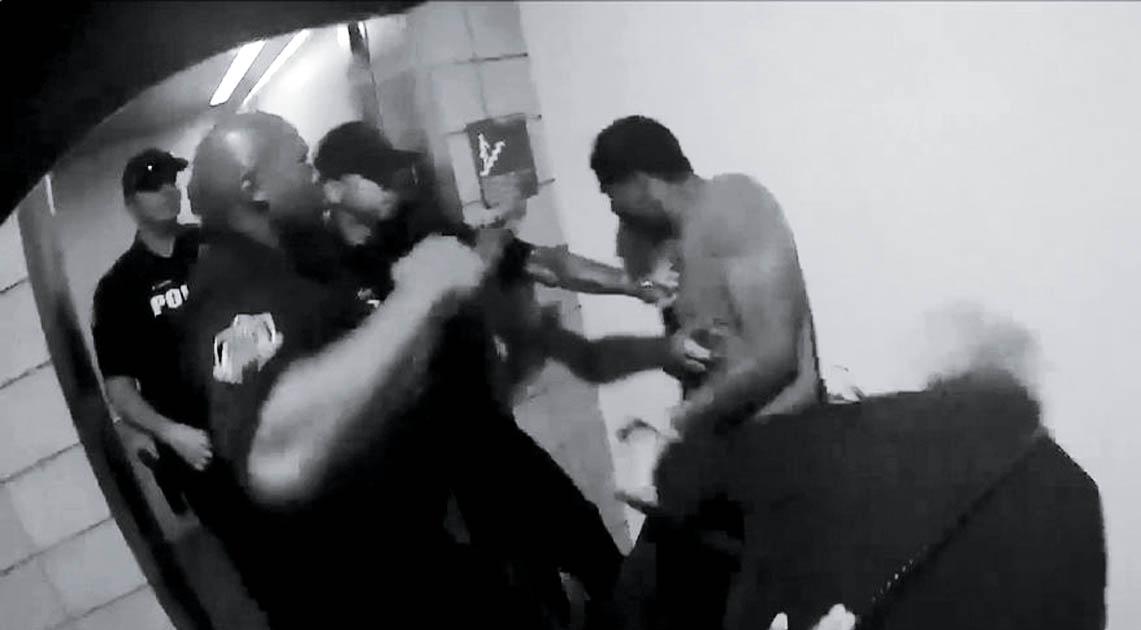 In 2018, five cops attacked Robert Johnson in Mesa, Arizona