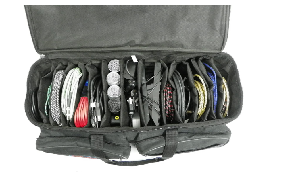 Cablephyle Cables & Accessories Organizer Gig Bag