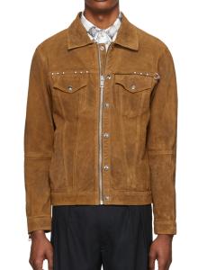 suede jacket mens zip up