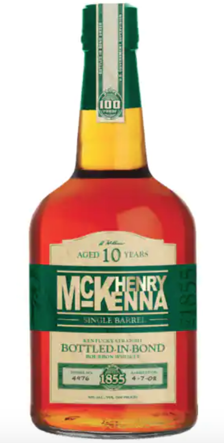 bourbon whiskey henry mckenna