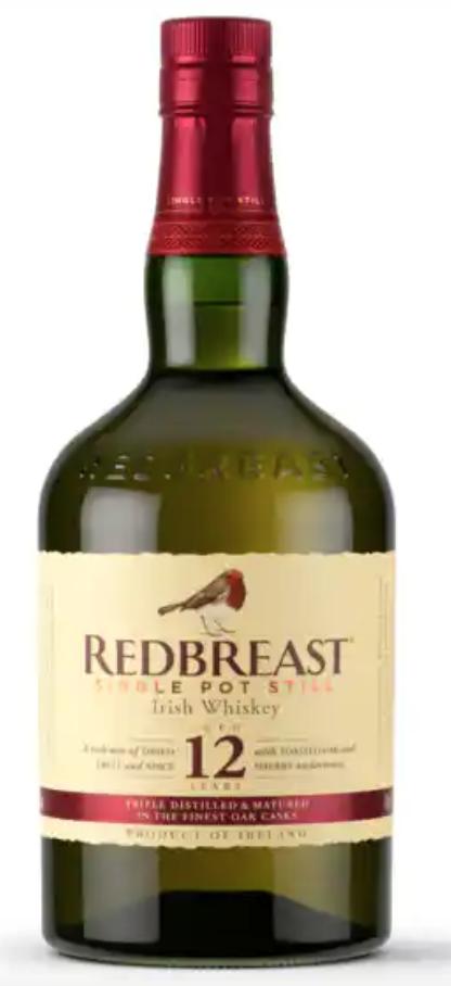 irish whiskey redbreast