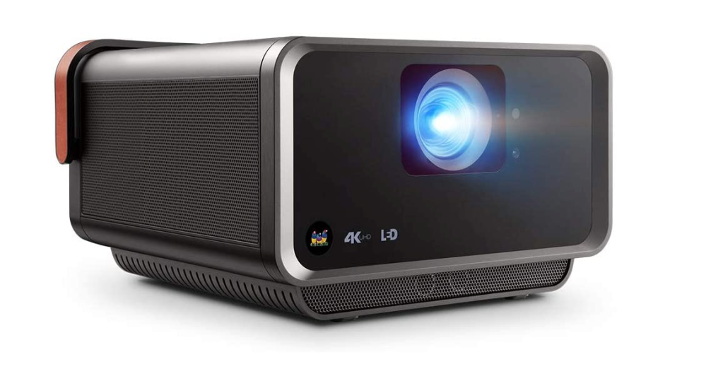 ViewSonic X10-4KE True 4K UHD Short Throw LED Portable Smart Wi-Fi Home Theater Projector