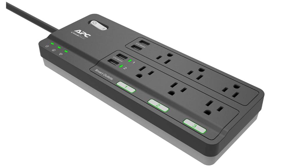 APC Smart Plug Wifi Power Strip with USB Ports