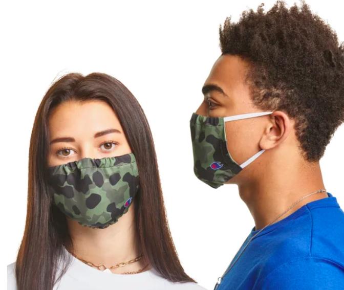 champion face masks