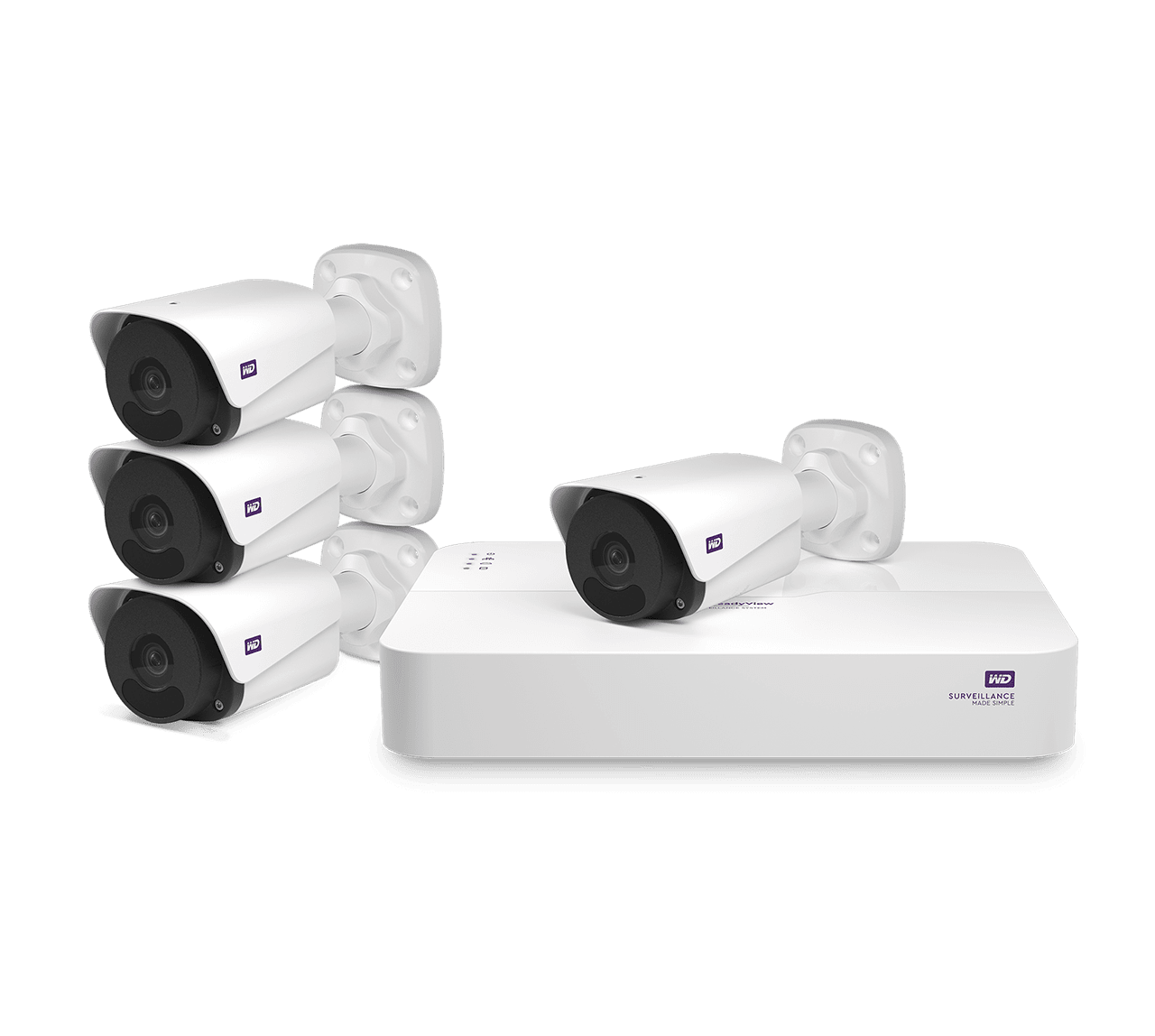 WD ReadyView 4MP Surveillance System