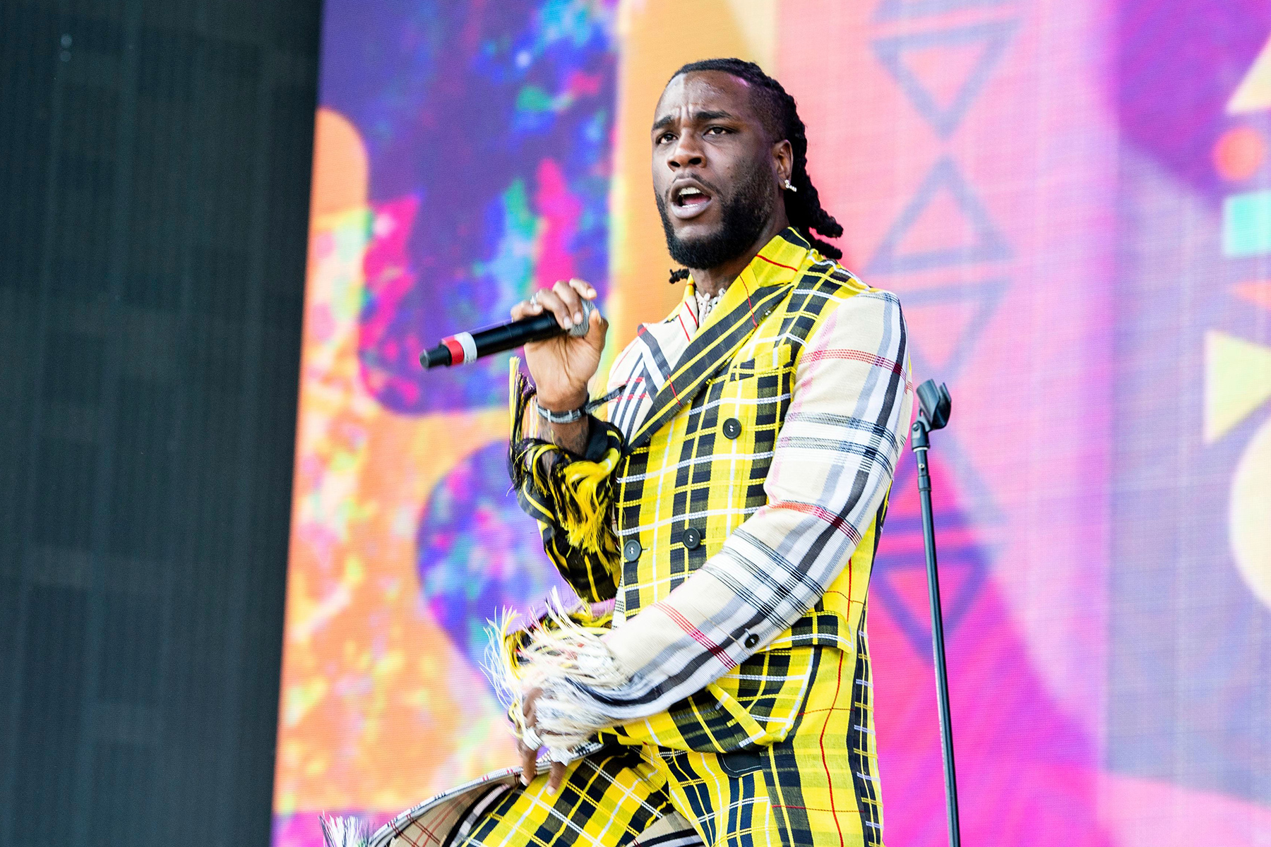 Burna Boy reacts to BET award - 'Africa must matter for Black lives to matter'