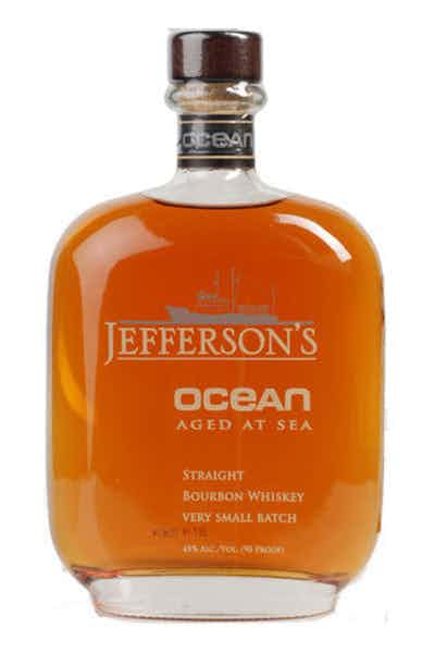 aged whiskey ocean jefferson's