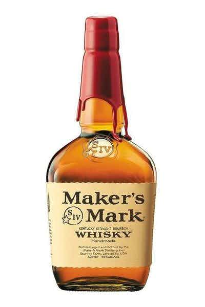 maker's mark whiskey bottle