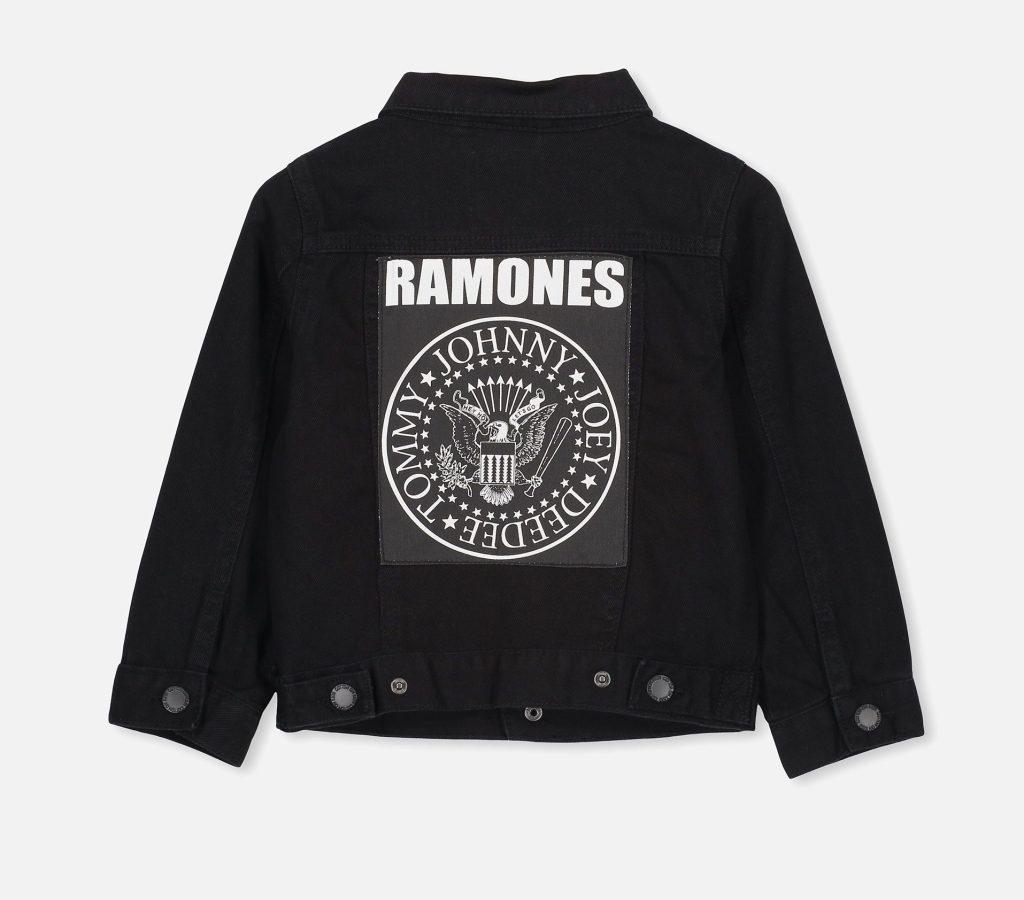 Best Kids Music Tees - Ramones Denim Jacket