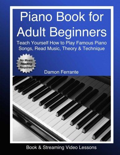 damon ferrante piano book adult beginners