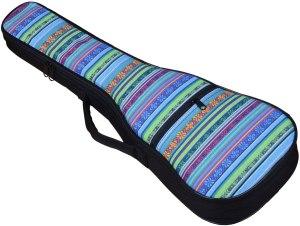 hot seal colorful ukulele case