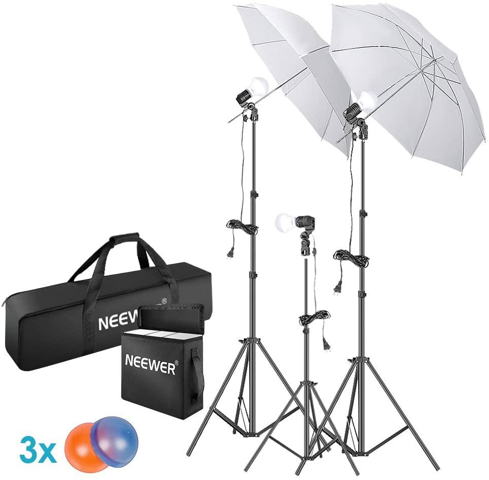 neewer photo studio umbrella kit