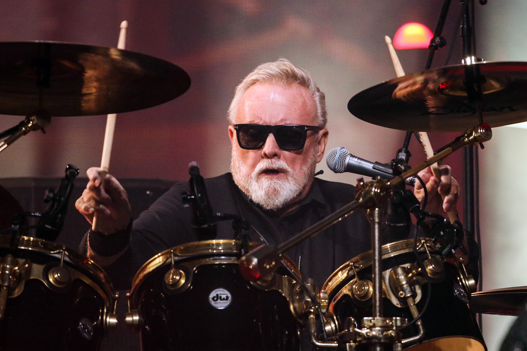 Roger Taylor with Queen + Adam Lambert performs during The Rhapsody Tour at State Farm Arena, in AtlantaThe Rhapsody Tour - , Atlanta, USA - 22 Aug 2019