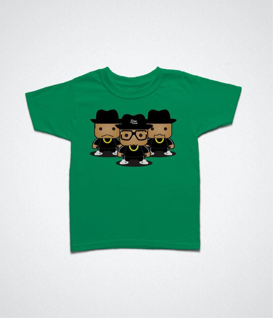 Best Kids Music Tees — Run DMC kids shirt