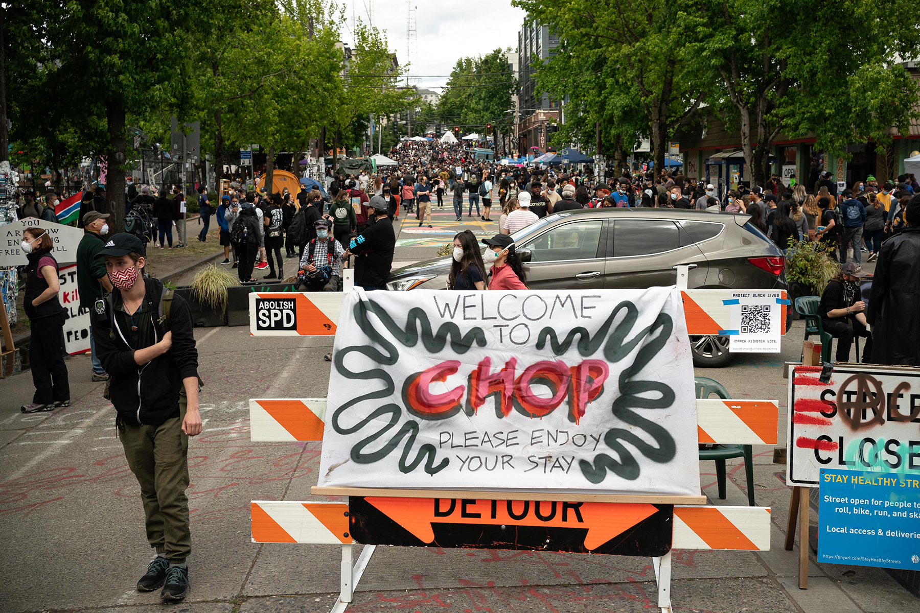Chop Seattle S Autonomous Zone Not What You Ve Been Told Rolling Stone
