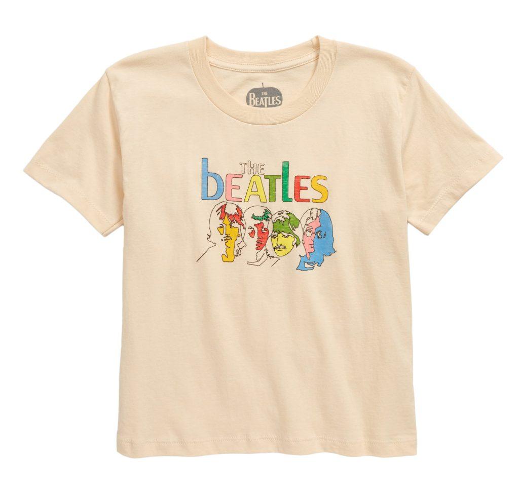 beatles tee kids
