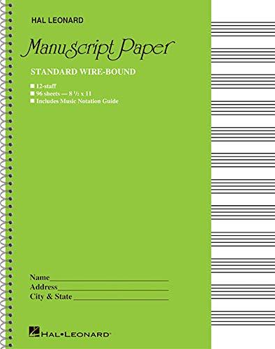 wirebound manuscript paper