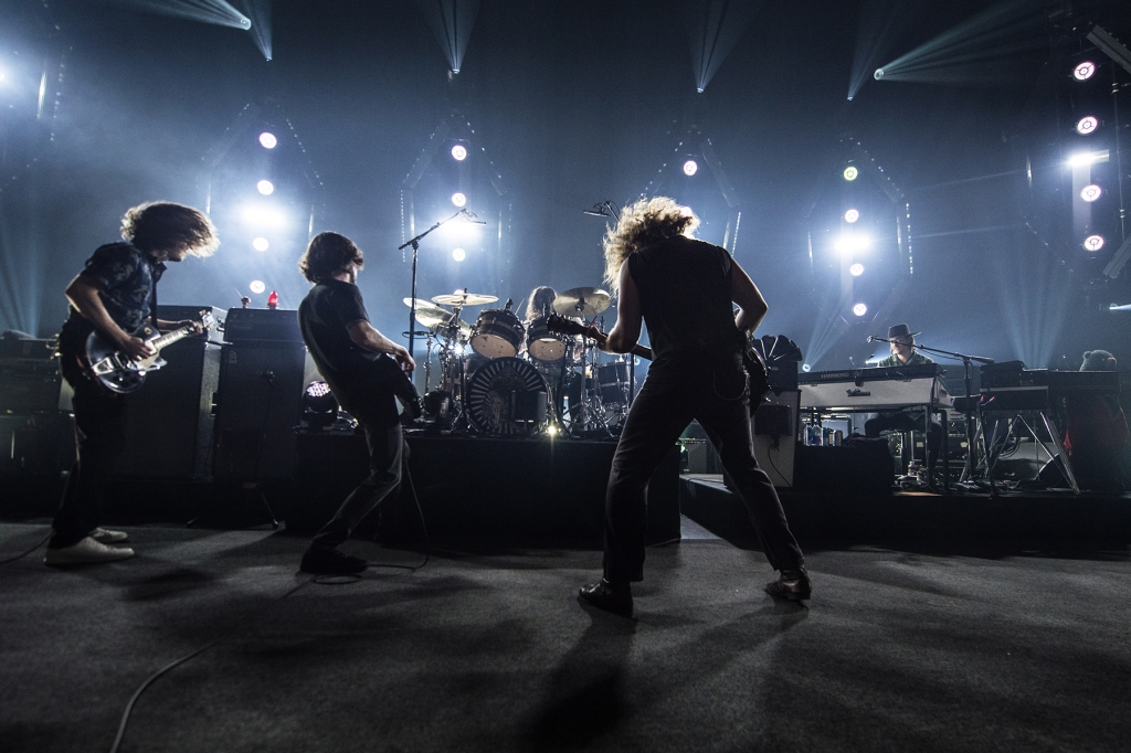 My Morning Jacket performs at the Capitol Theater in August 2019.