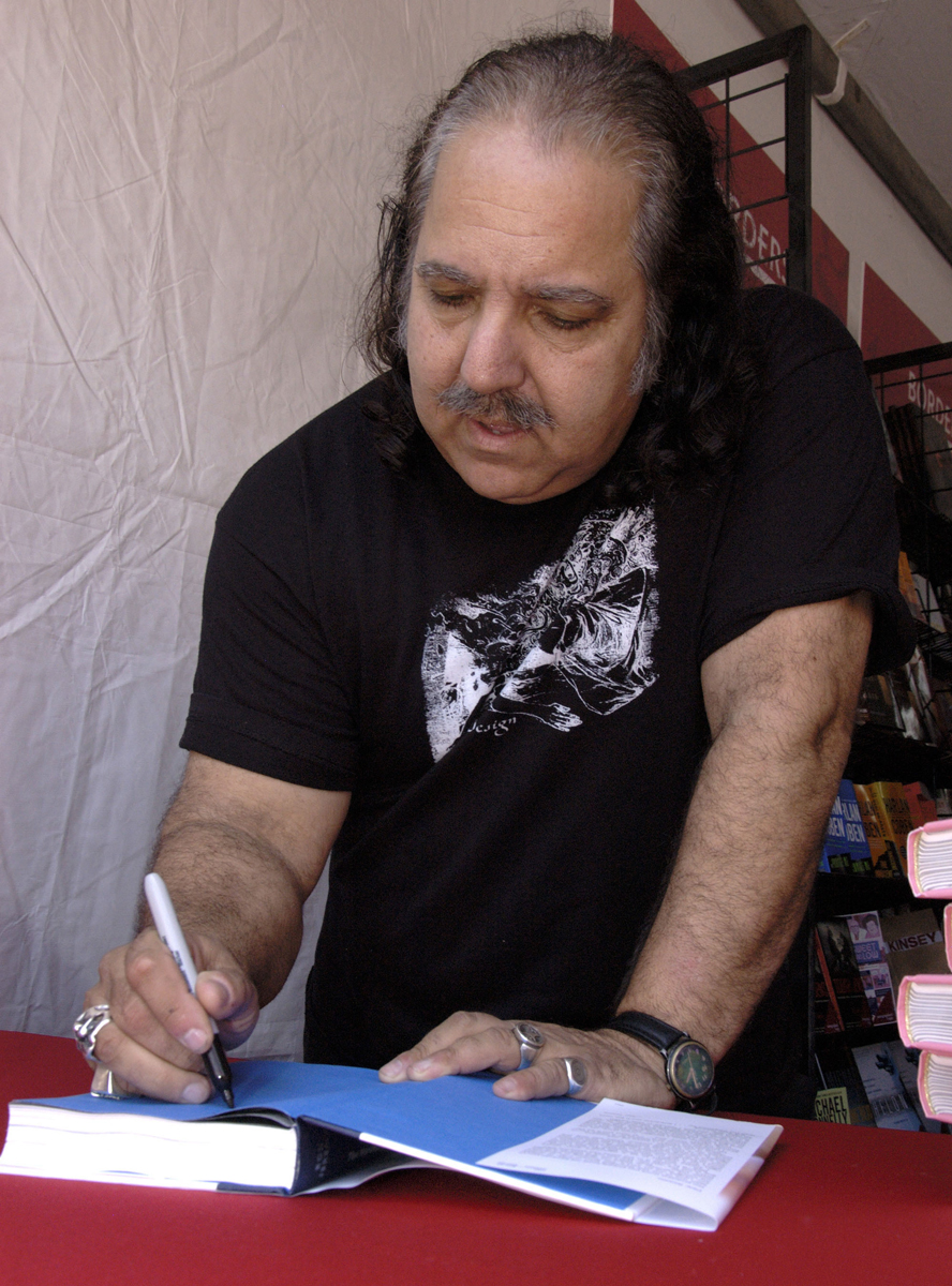 Ron Jeremy signs ''The Hardest (Working) Man in Showbiz'' at the 12th annual Los Angeles Times Festival of Books in Los Angeles on Saturday, April 28, 2007.