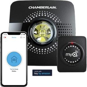 wifi garage door opener chamberlain myQ
