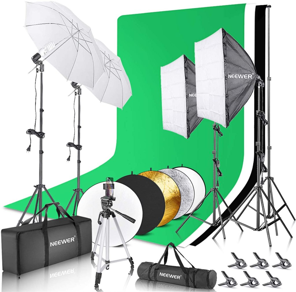 continuous lighting kit photography