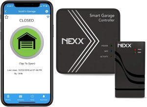 smart home garage opener nexx