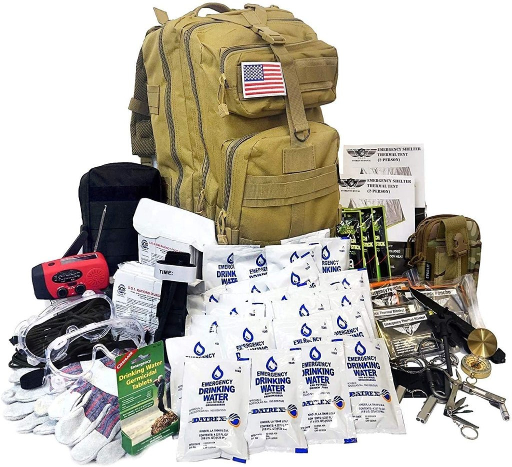 emergency survival kit military