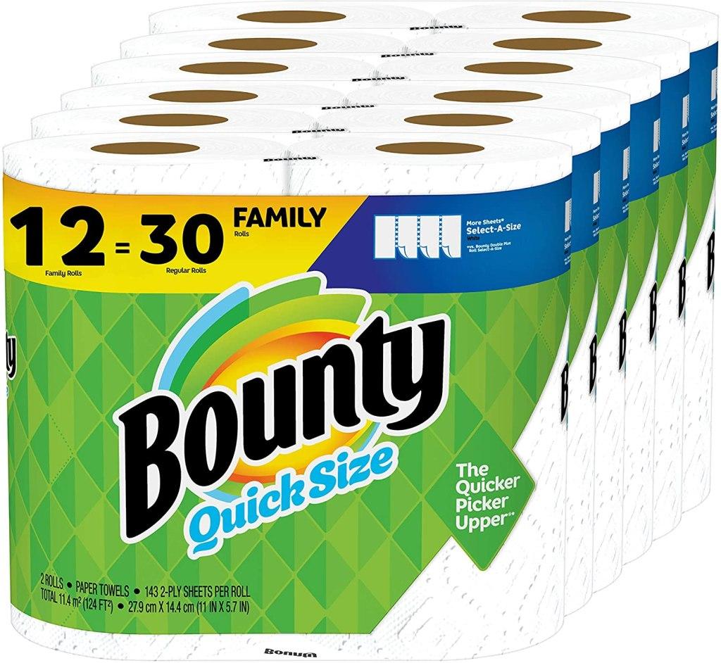 bounty paper towels amazon