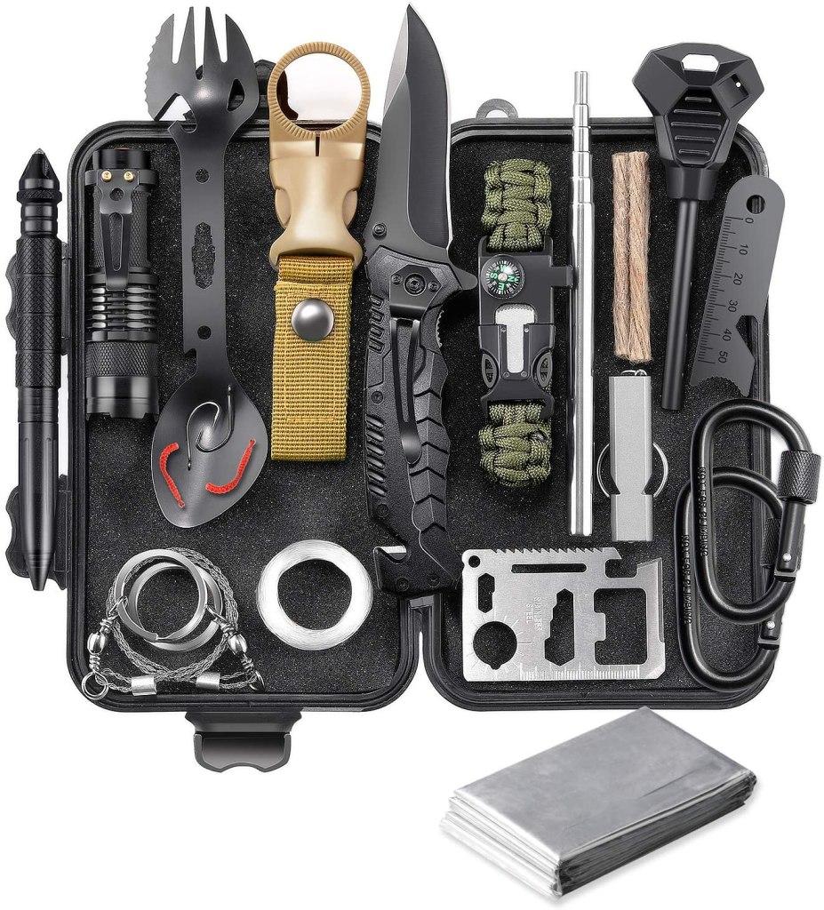 outdoor survival tool kit