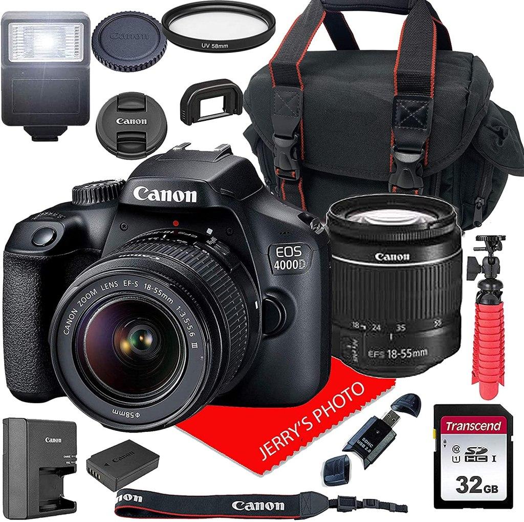 Canon EOS 4000D DSLR Camera deal
