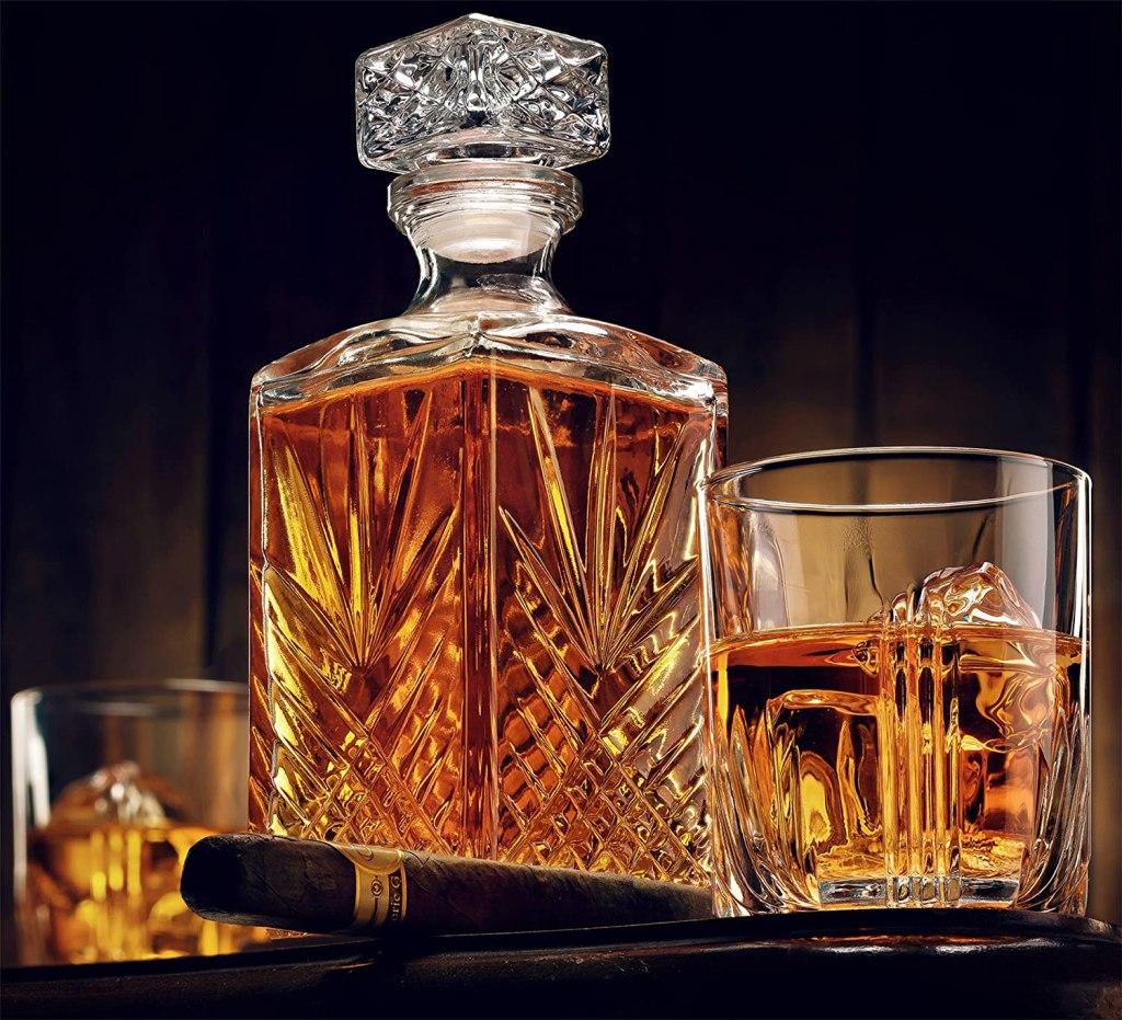 best whiskey glass set