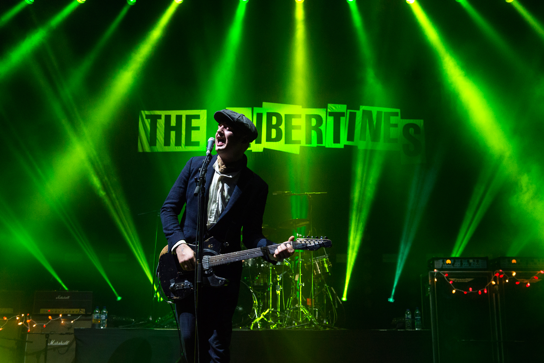 LONDON, ENGLAND - DECEMBER 19: Pete Doherty of The Libertines performs at O2 Academy Brixton on December 19, 2019 in London, United Kingdom. (Photo by Matthew Baker/Getty Images)