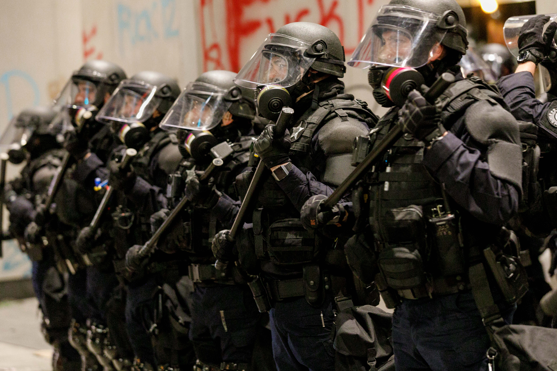 Portland Oregon Progressive City Brutal Police Force Rolling Stone