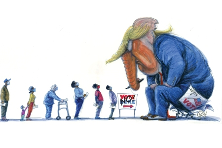 trump, voter suppression, gop stealing election