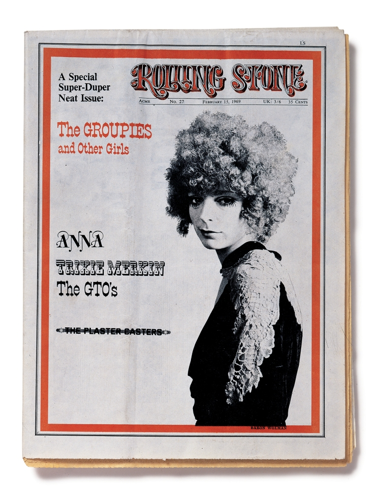 "RS027 The cover of the February 15th, 1969 issue of ""Rolling Stone"""