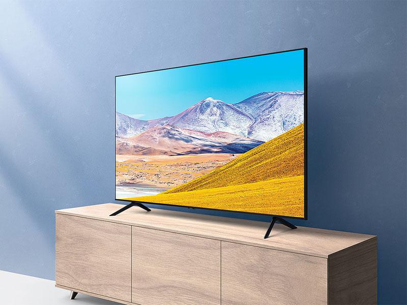 SAMSUNG 65-Inch TU-8000 Series 4K TV