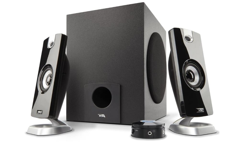 Cyber Acoustics 2.1 Subwoofer Speaker System