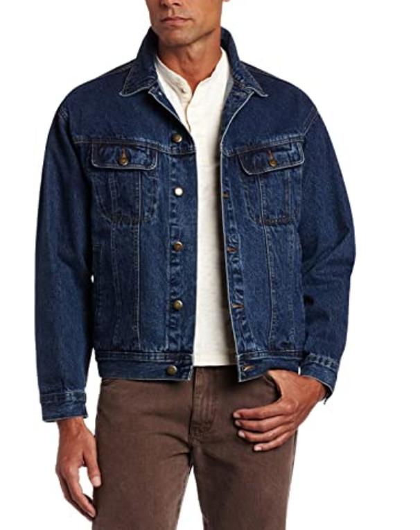 denim jacket wrangler cowboy