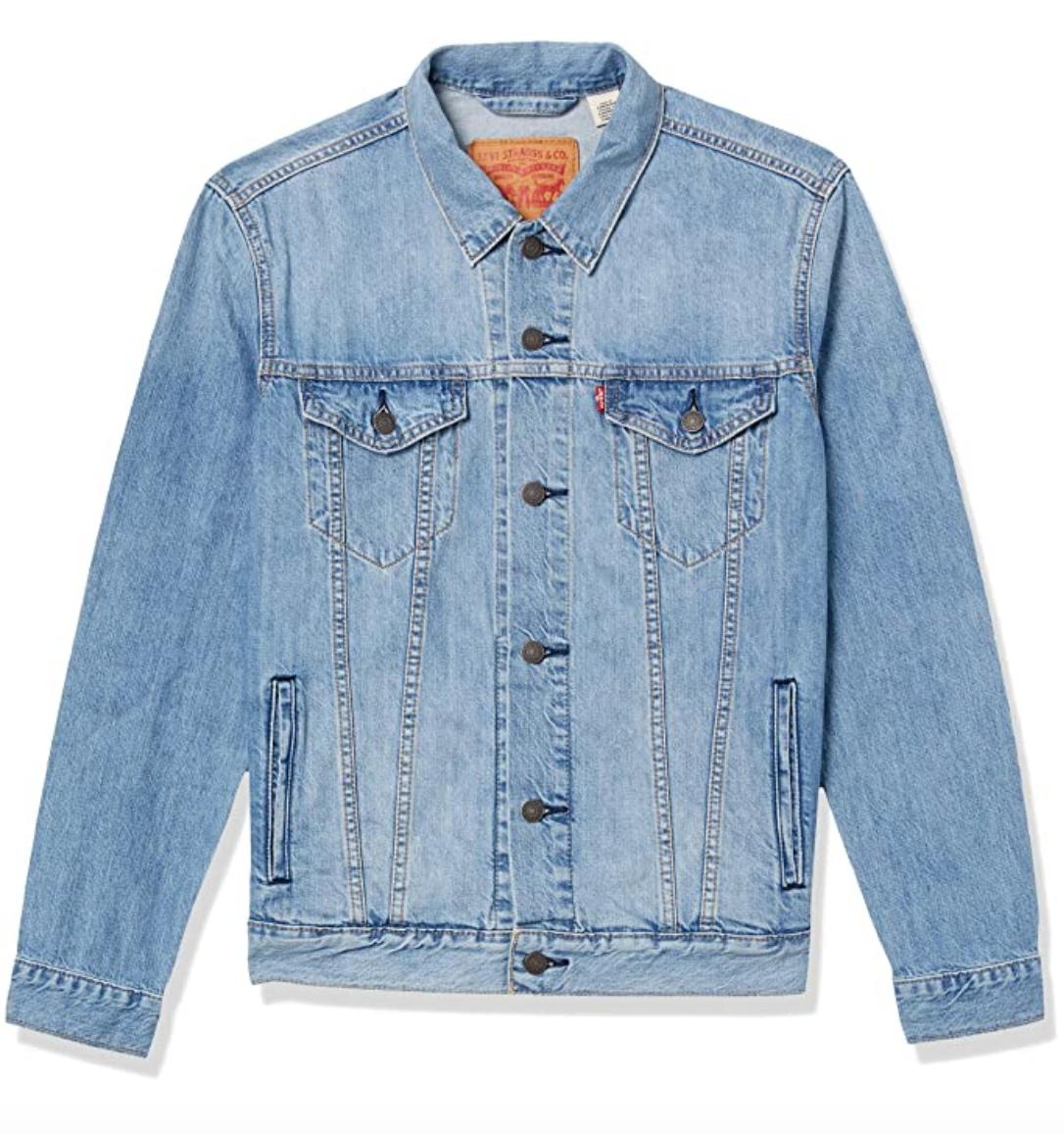 blue jean jacket levi's