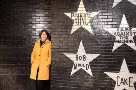 A portrait of Senator Amy Klobuchar at First Ave in Minneapolis, Minn., on Friday, January 11, 2019. Photo by Jenn Ackerman@ackermangruber